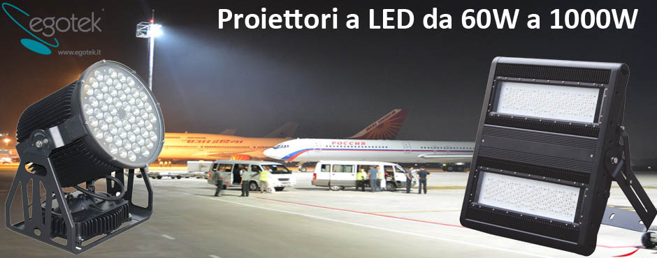 Home egotek divisione di pierre s r l for Proiettori a led