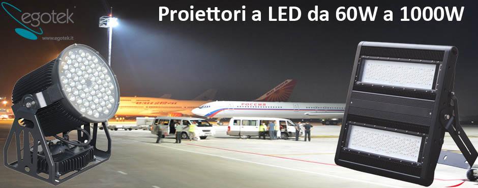 banner proiettori a LED